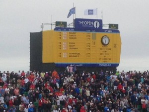 Open Golf Scoreboard